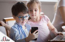 اضرار الهاتف على الاطفال