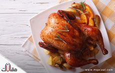 السعرات الحرارية في الدجاج