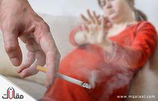 اثار التدخين السلبي