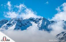 جبال الالب اين تقع