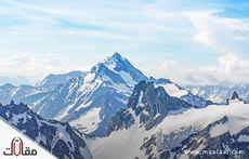 اين تقع جبال الالب