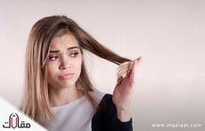 علاج قشرة الشعر الدهنية