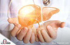 اعراض اورام الكبد الحميدة