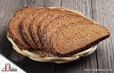السعرات الحرارية في الخبز الاسمر