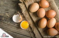 فوائد البيض النيئ