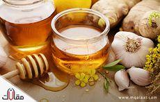 فوائد الثوم والعسل