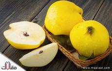 فاكهة تشبه التفاح