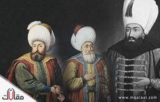 حكام الدولة العثمانية